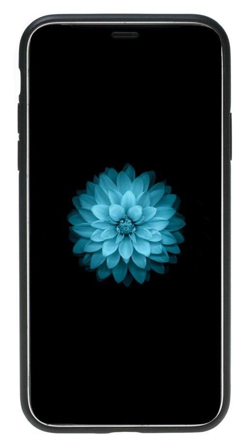 "iPhone X / XS Lederhülle ""STANFORD"" (Nude)"