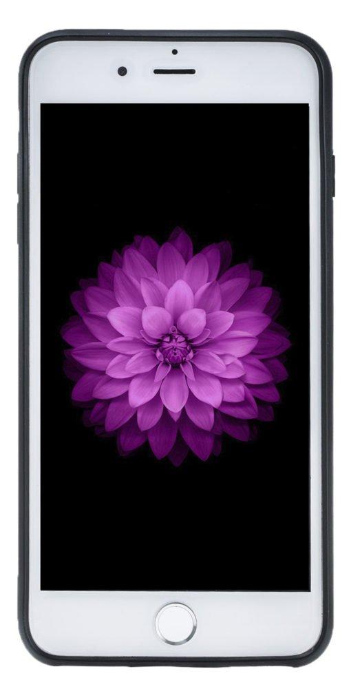 """iPhone 7 Plus / 8 Plus Hülle - """"STANFORD"""" - Camouflage Grün aus Leder"""