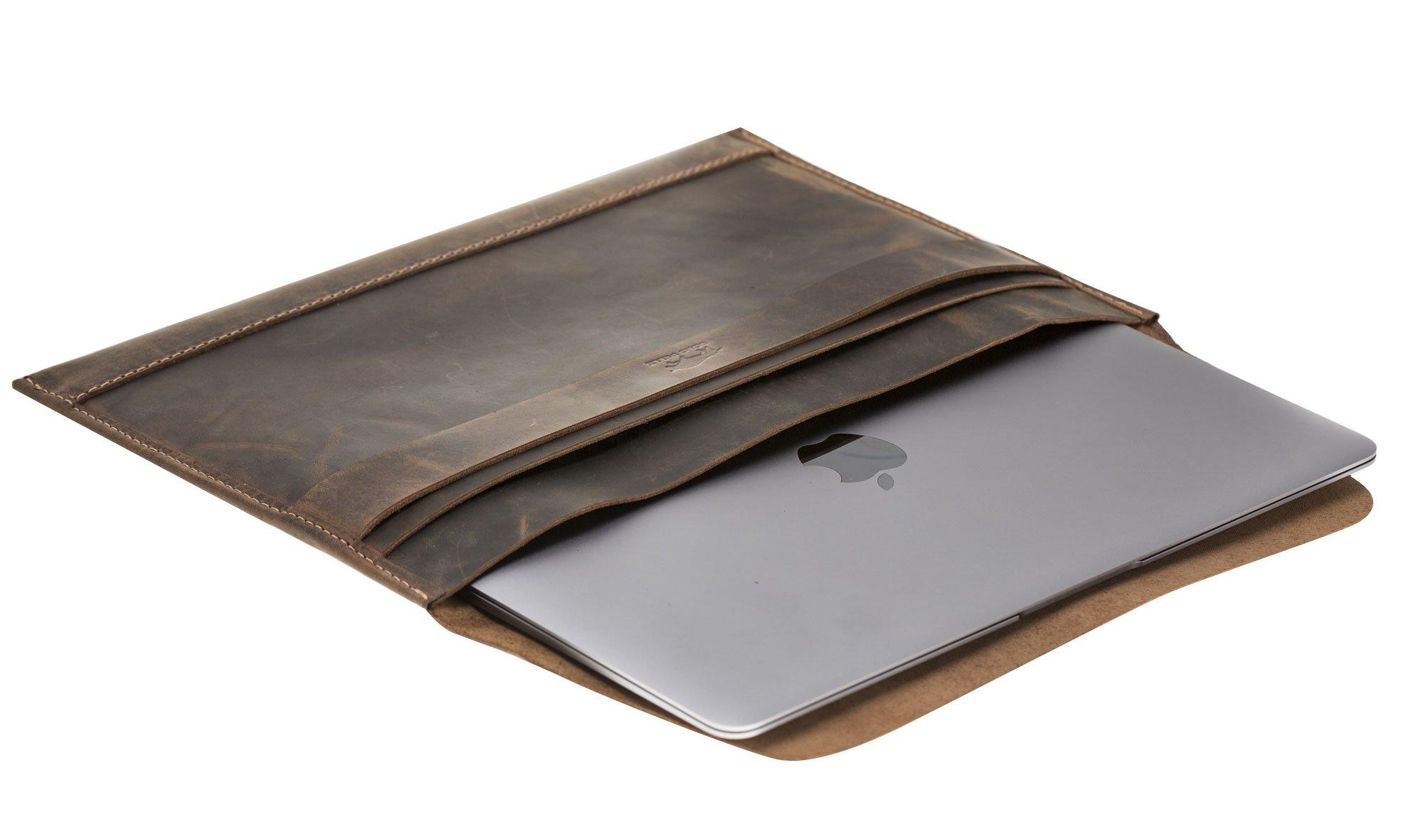 Ledertasche für`s MacBook Air 13,3 Zoll Ledertasche MacBook Pro 13 Zoll Ipad Pro 12,9 Zoll
