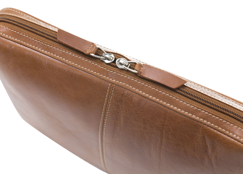 Sleeve MacBook Pro 15 Zoll in Cognac Braun