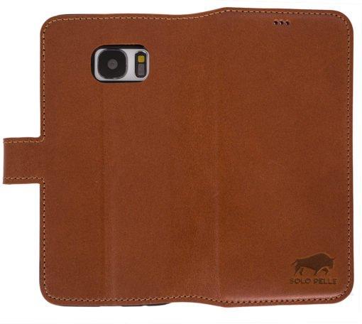Walletcase (Samsung S7 in Cognac Braun)