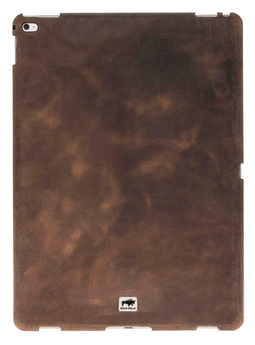 "iPad Pro 9,7 Zoll ""Fullsafe"" Hülle aus echtem Leder in Vintage Braun"