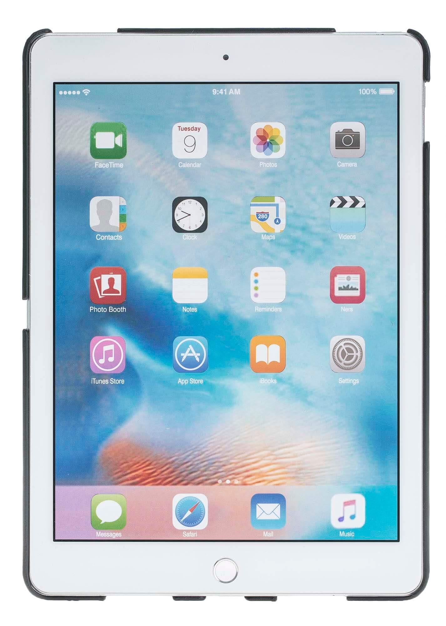 "iPad Pro 9,7 Zoll ""Fullsafe"" Hülle aus echtem Leder in Schwarz"