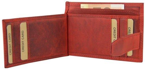 """Geldbörse """"5086"""" in Vintage Rot"""