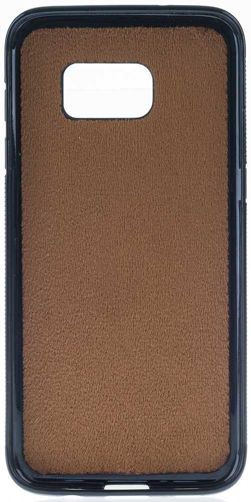 """Samsung S7 """"STANFORD"""" Leder Hülle Tasche Lederhülle Ledertasche Backcover in Vintage Braun"""