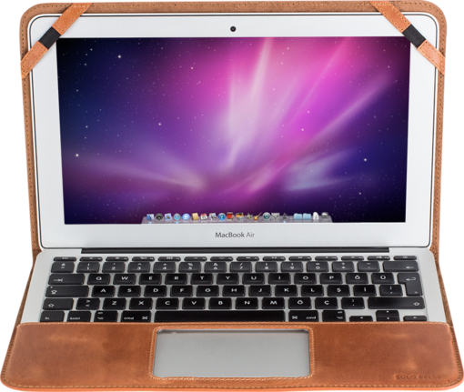 MacBook Air 11 Zoll in Cognac Braun