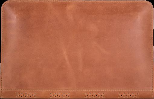 MacBook Air 11 Zoll Tasche aus echtem Leder in Cognac Braun