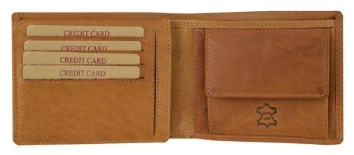 """Geldbörse """"London"""" (Vintage Braun)"""