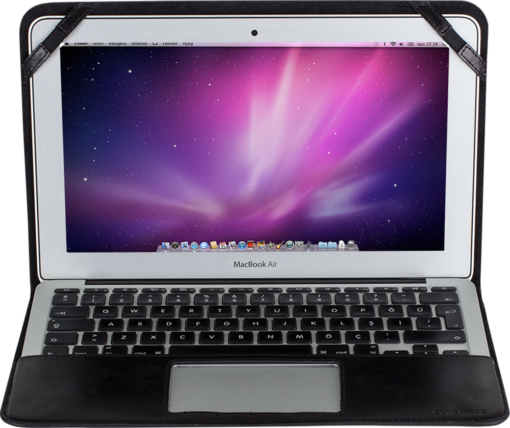 MacBook Air 11 Zoll in Schwarz