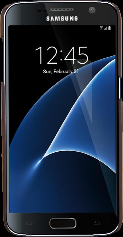 "Samsung S7 ""Ultra Slim"" in Vintage Braun"