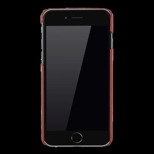 """iPhone 6 Plus / 6S Plus Hülle - """"Yale"""" - Vintage Rot aus Leder"""