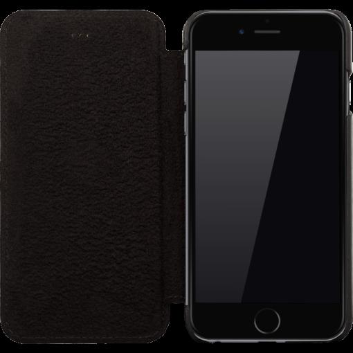 iPhone 6/6S Hülle - Vintage Schwarz aus Leder