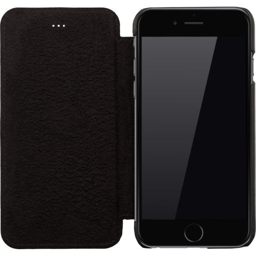 "iPhone 6 / 6S Hülle - ""Ultra One"" - Schwarz aus Leder"