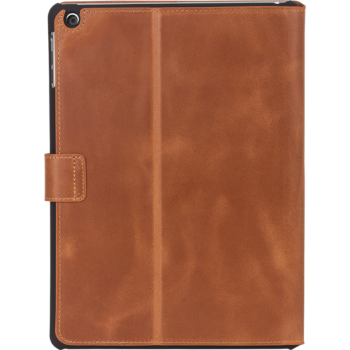 "IPad Air Ledertasche ""Miami"" in Cognac Braun"