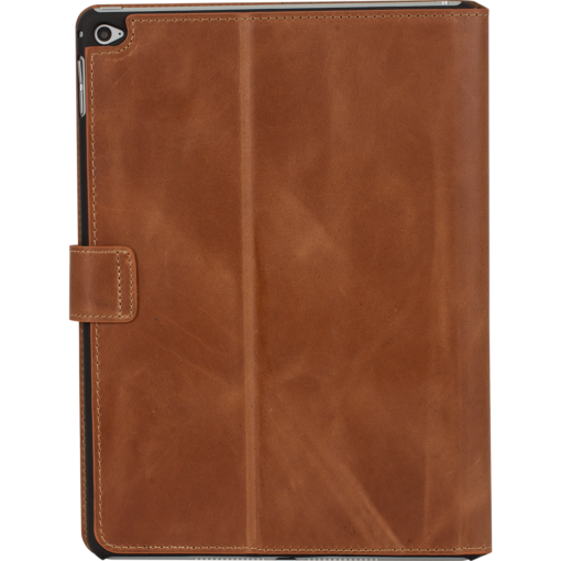 "Ipad Air 2 ""Miami"" Lederhülle in Cognac Braun"