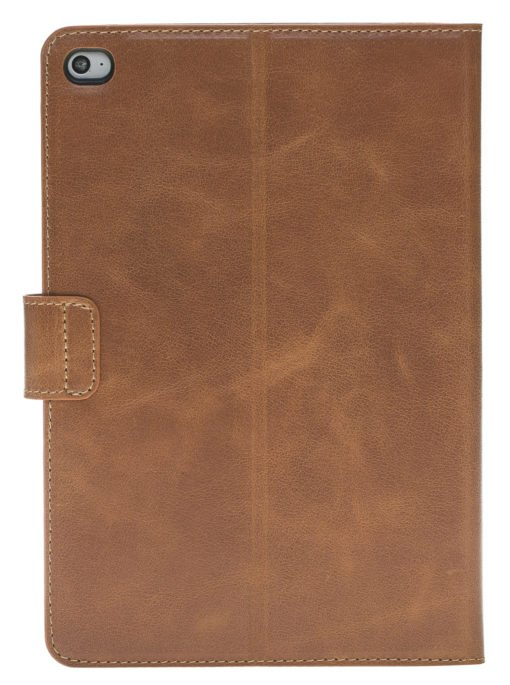 "Ipad Mini 4 ""Miami"" Ledertasche in Cognac Braun"