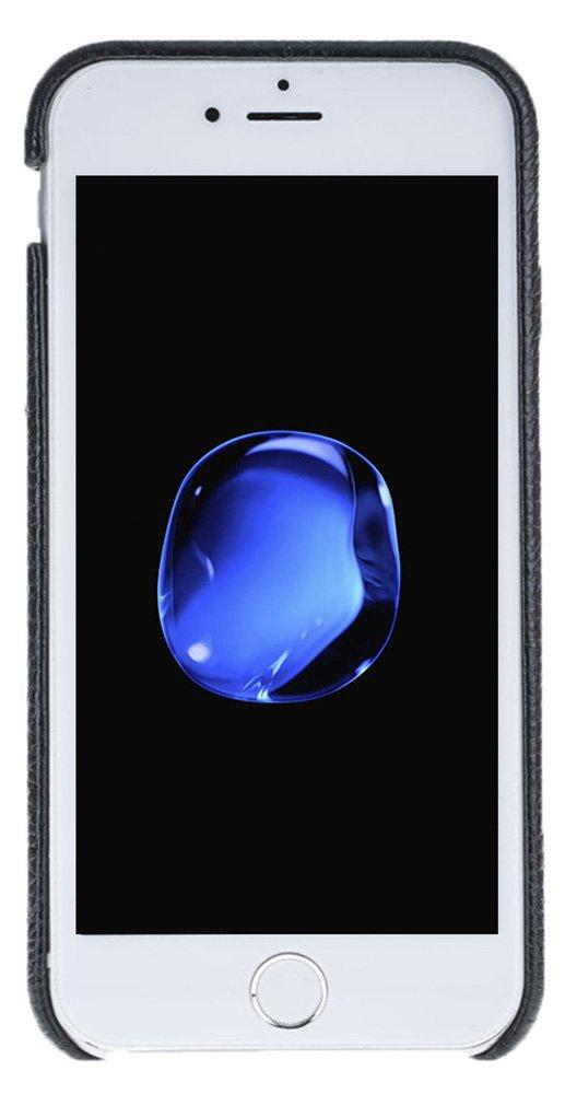 "iPhone 6 / 6S Hülle - ""Fullcover"" - Schwarz aus Leder"