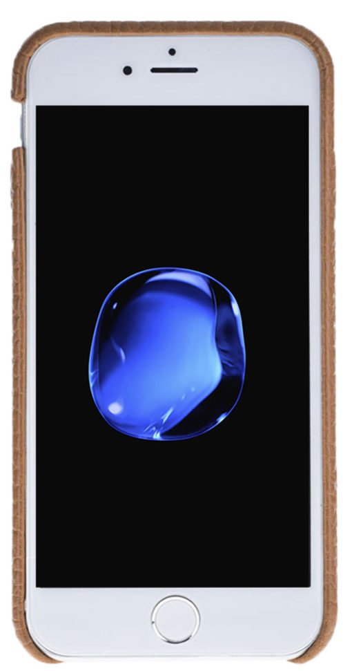 "iPhone 6 / 6S Hülle - ""Fullcover"" - Braun aus Leder"