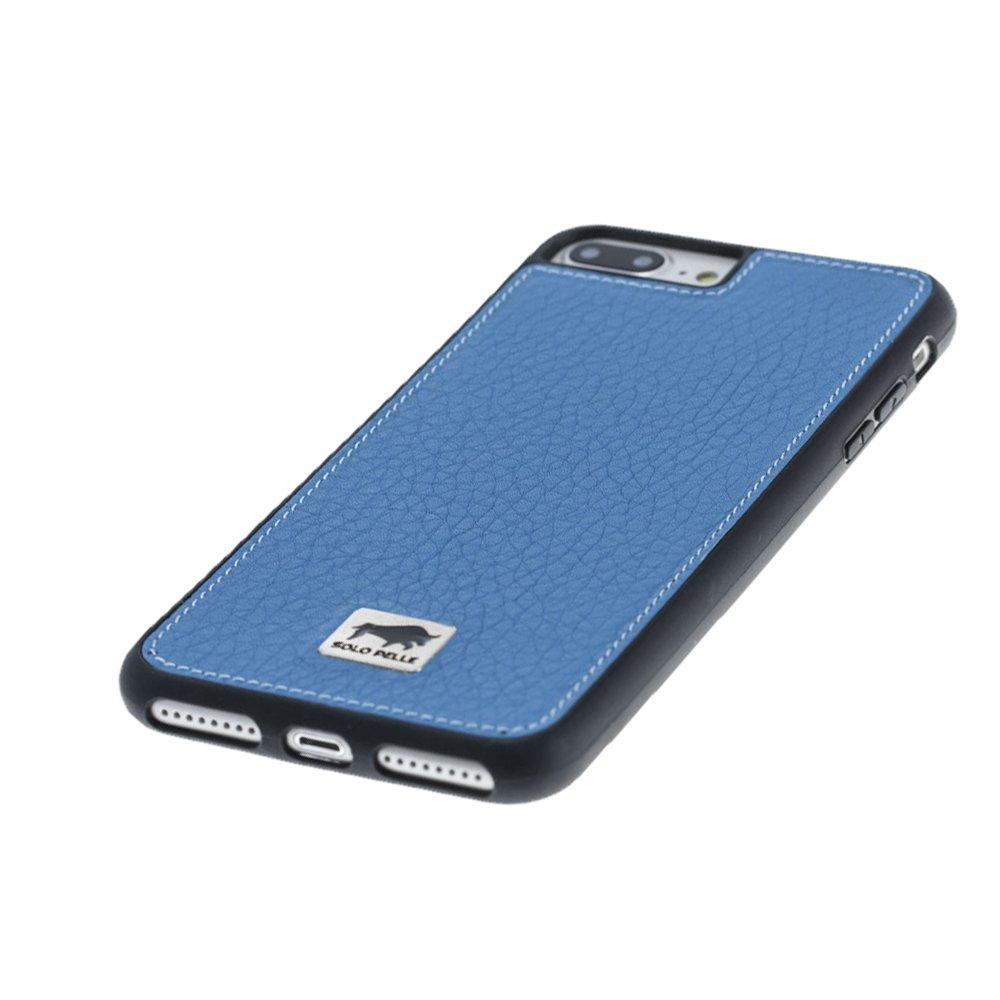 iphone 7 plus 8 plus h lle flex floater blau aus leder. Black Bedroom Furniture Sets. Home Design Ideas