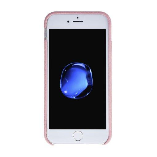 "iPhone SE / 5 / 5S Hülle - ""Fullcover"" - Rosa aus Leder"