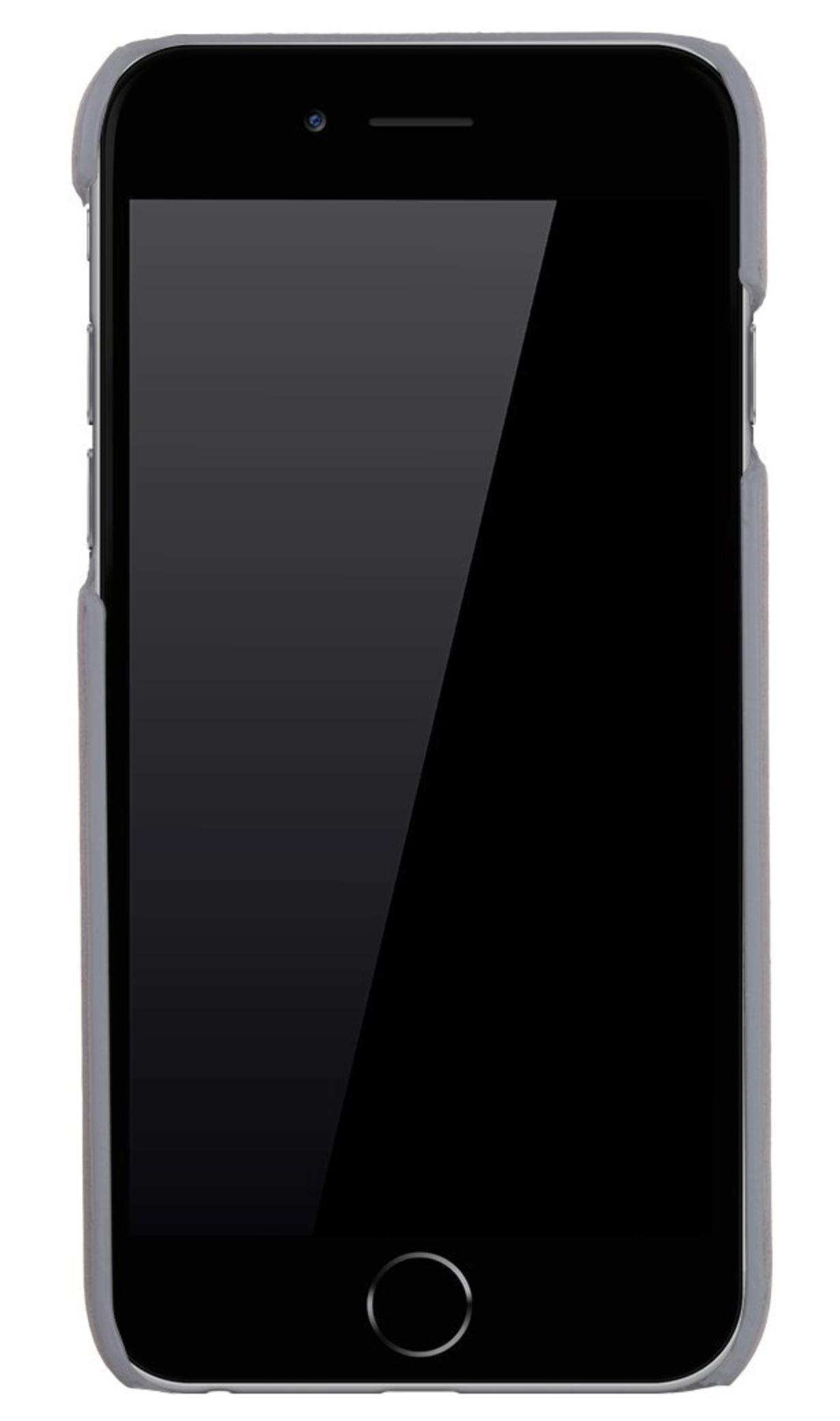 """iPhone 6 Plus / 6S Plus Hülle - """"Yale"""" - Light Grau aus Leder"""