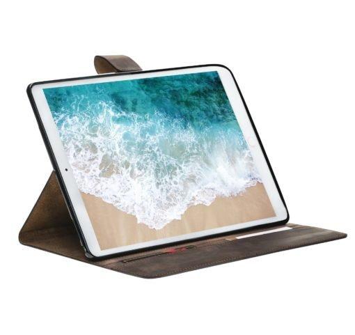 iPad Pro 10.5 Zoll Ledertasche in Vintage Braun