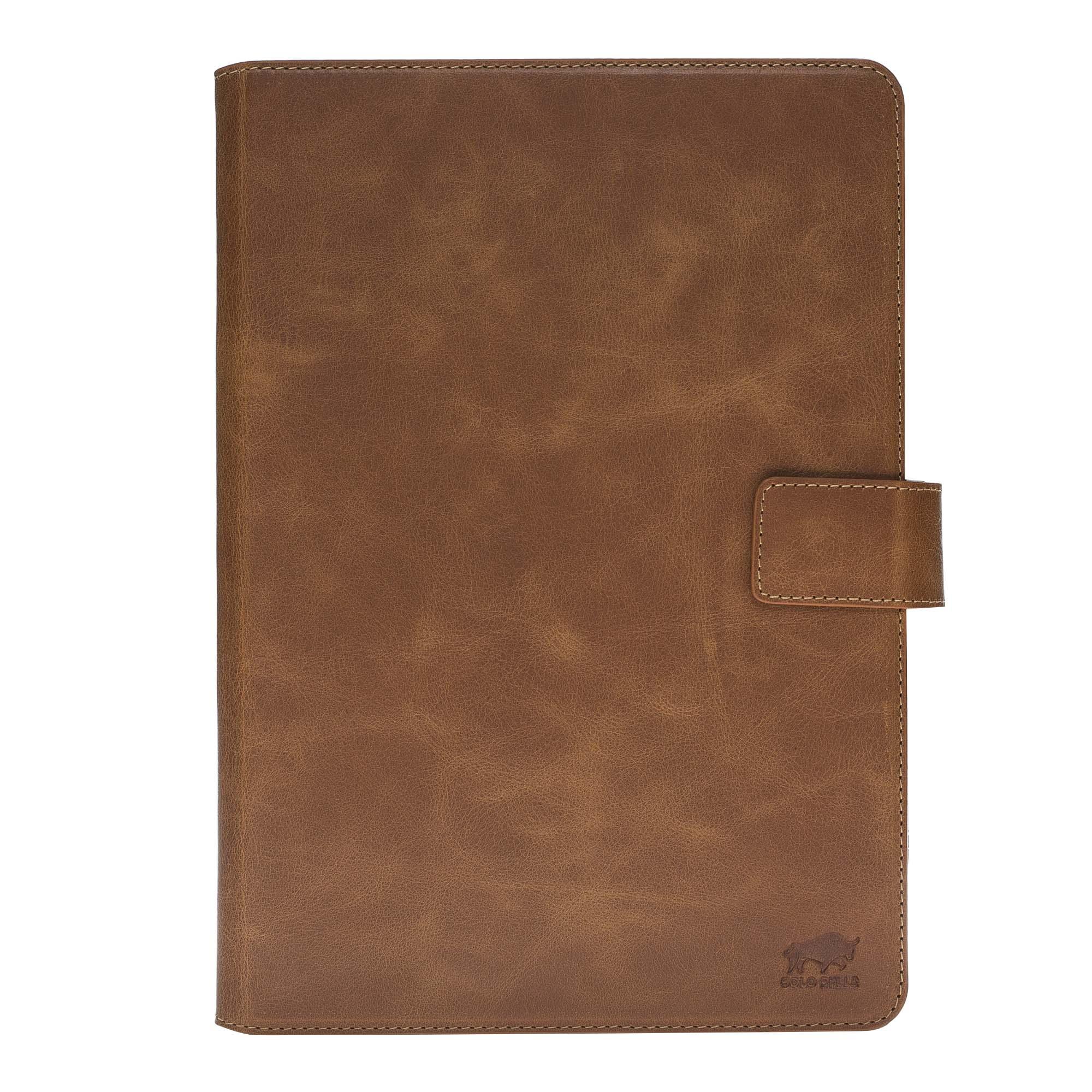 iPad Pro 10.5 Zoll Ledertasche in Cognac Braun