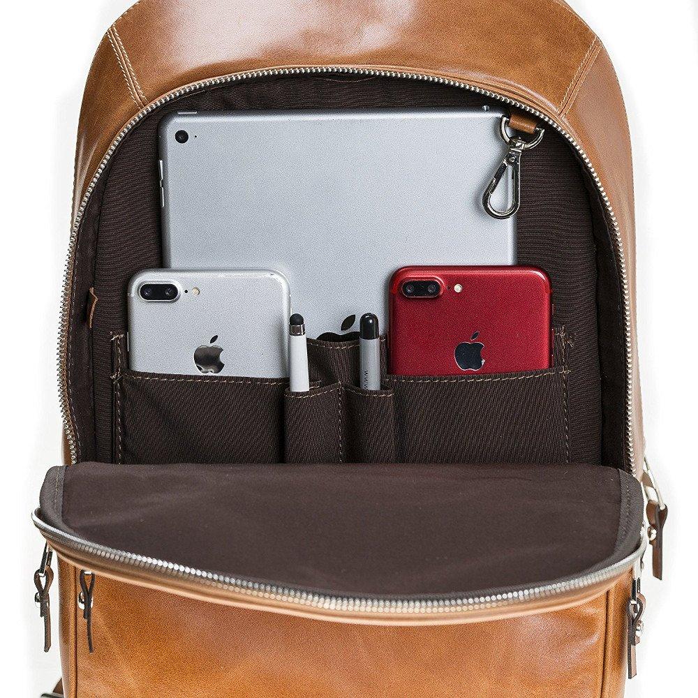 Backpack in Cognac Braun
