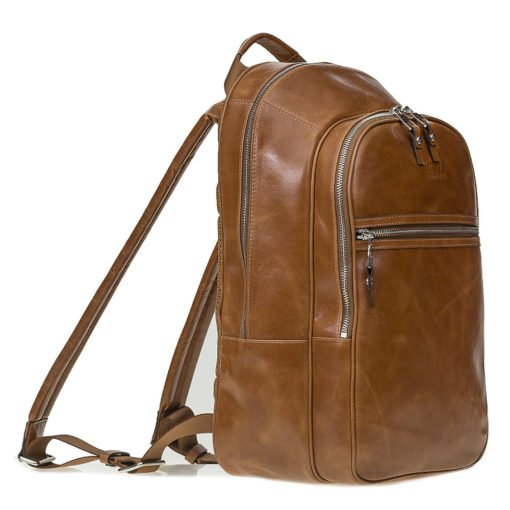 Backpack in Cognac Braun