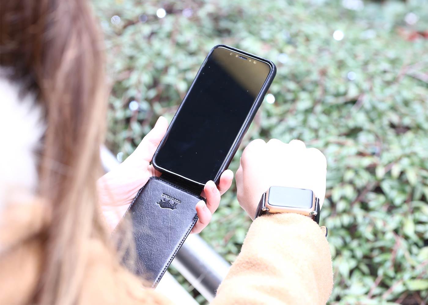 Einzigartige Lederhüllen für Smartphones