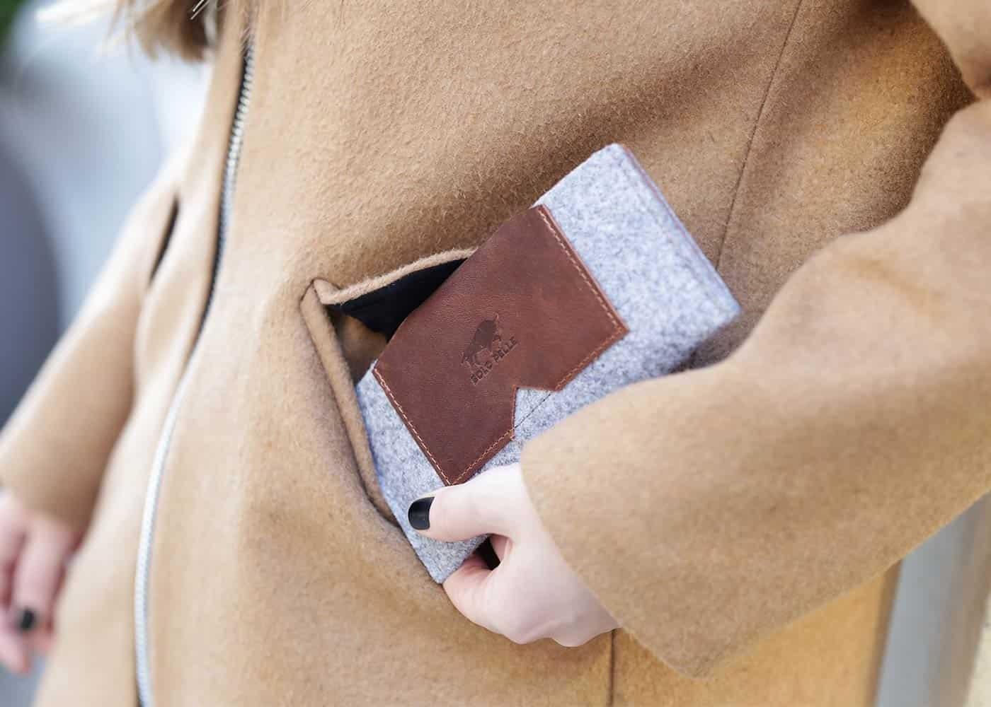 Handyhüllen aus Echtleder