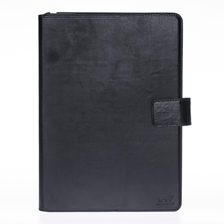 """iPad Pro 9,7 Zoll Tasche aus echtem Leder """"Miami"""" in Schwarz"""