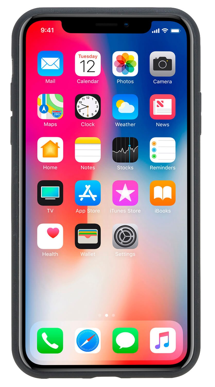 "iPhone XS Max ""Stanford"" Lederhülle in Orange"