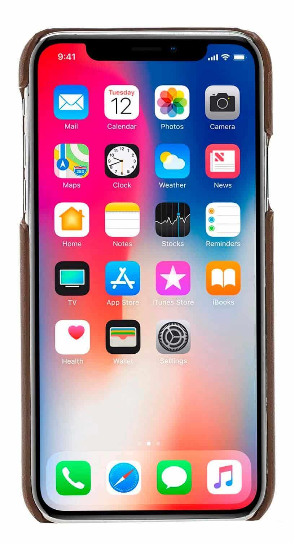 "iPhone XS Max ""Ultra Slim"" in Camel Braun"