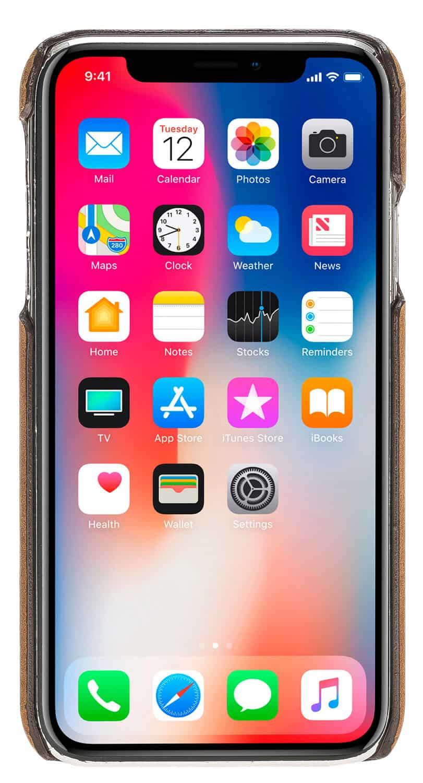 "iPhone XS Max ""Pomona"" in Camel Braun"