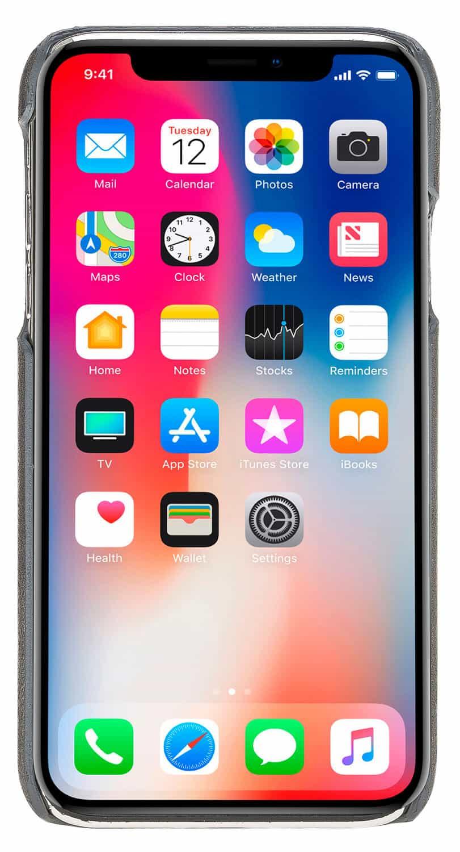 """iPhone XS Max """"Pomona"""" in Steingrau Burned"""