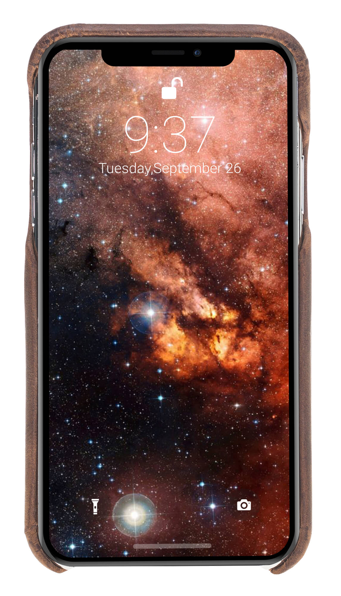 "Solo Pelle iPhone XR Lederhülle Ledertasche Backcover - ""Princeton"" - (Vintage Braun)"