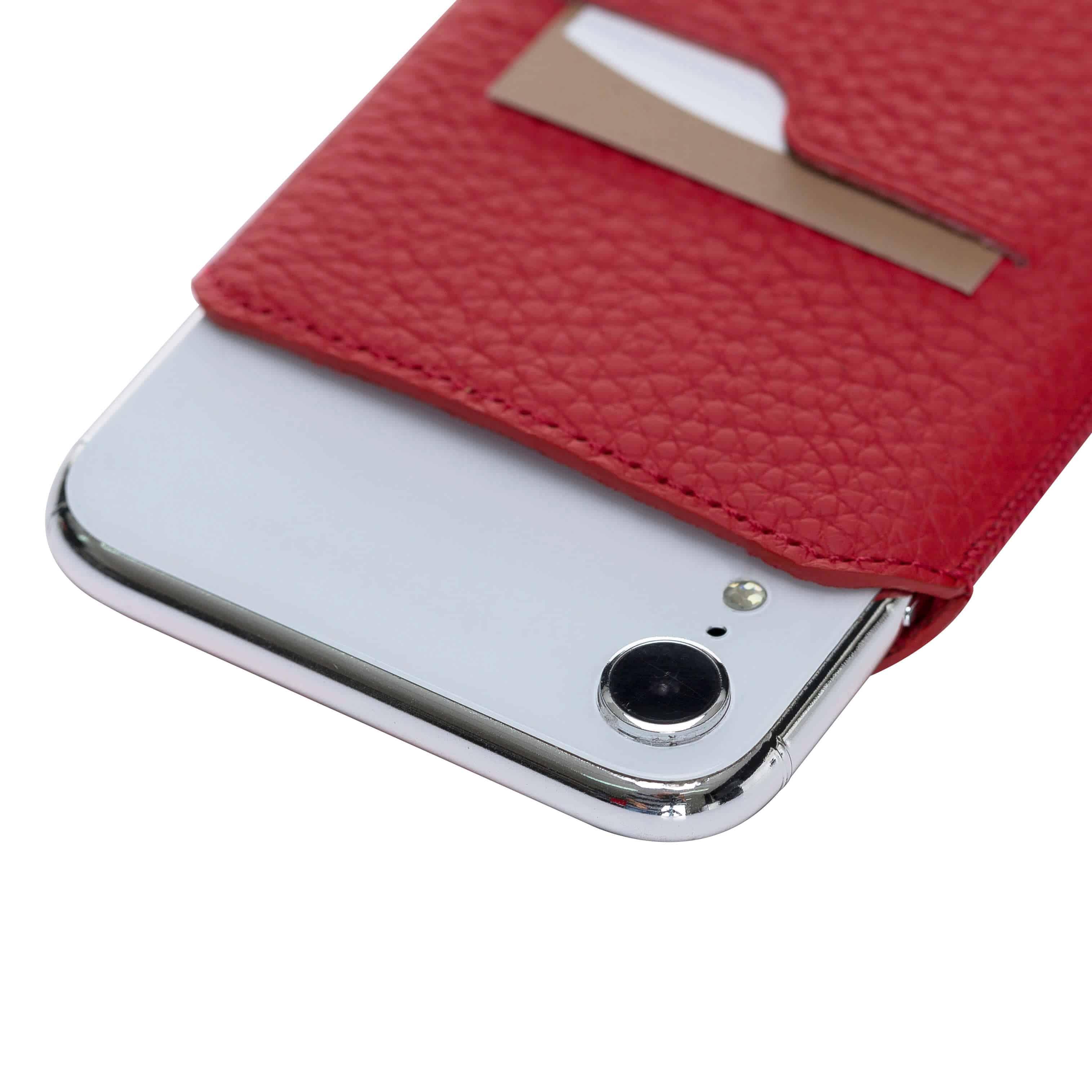 Solo Pelle iPhone XR Hülle I Lederhülle I Ledertasche I Sleeve aus echtem Leder in Floater Blau