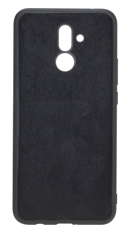 Lederhülle für das Huawei Mate 20 Lite in Schwarz