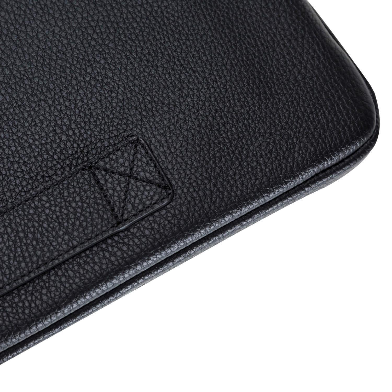 """Ledertasche für das Apple MacBook Pro 15 Zoll """"Awenta"""" Tasche aus echtem Leder in Schwarz"""