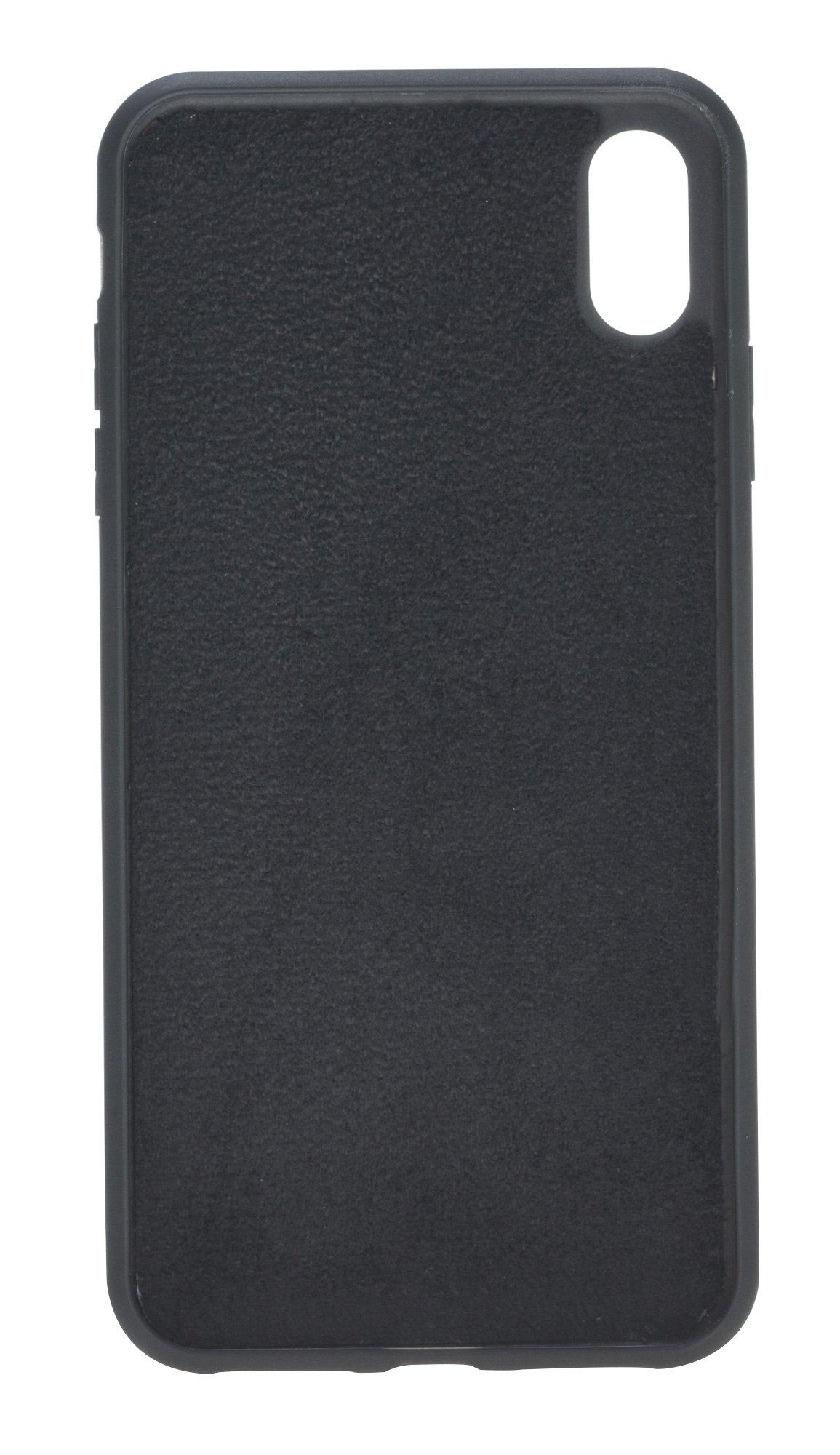 Solo Pelle iPhone X/XS Case Leder Hülle Ledertasche (Carbonprägung Leder)