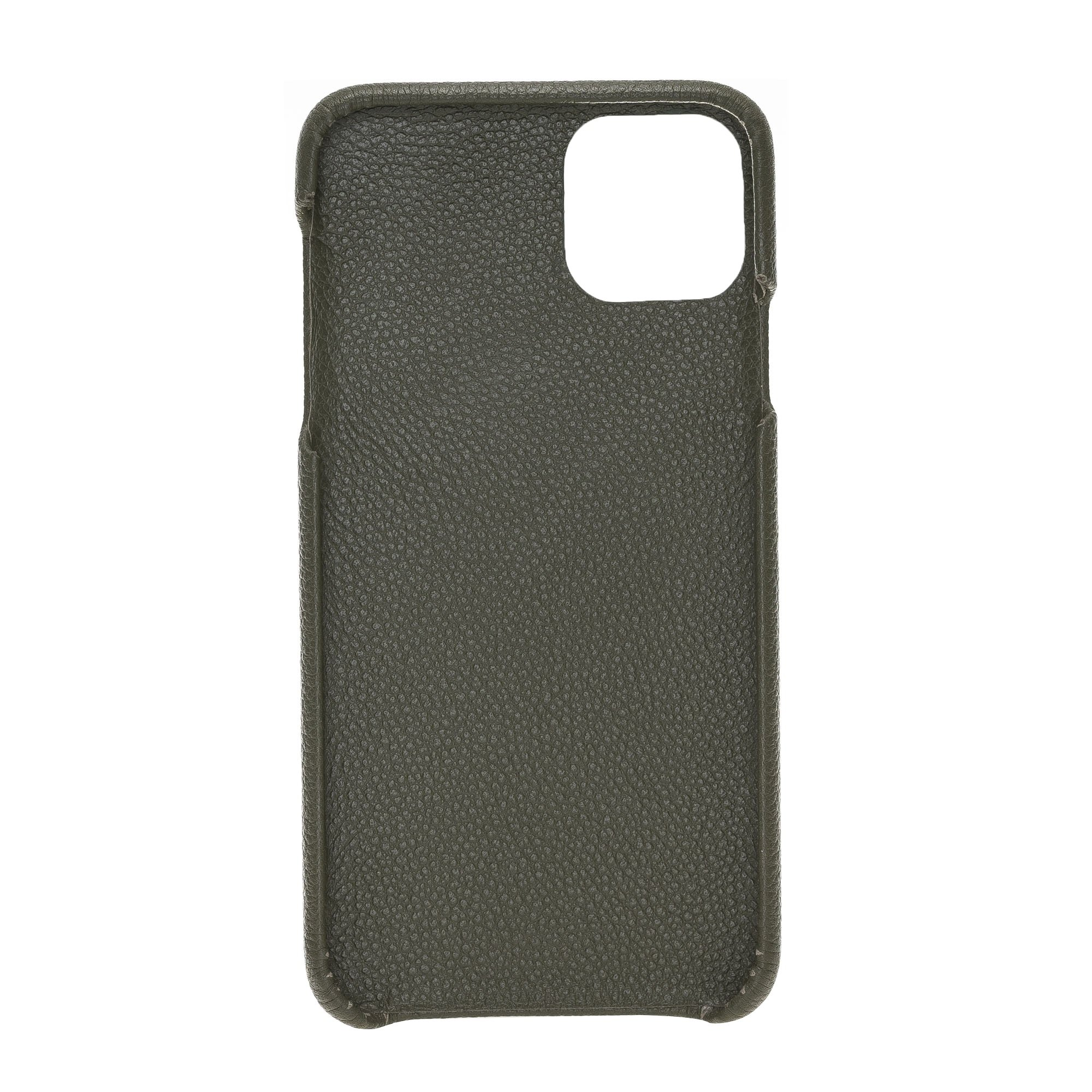 Solo Pelle Lederhülle kompatibel für iPhone 11 Pro Max 6.5 Zoll abnehmbare Hülle (2in1) (Vollleder Nachtgrün)