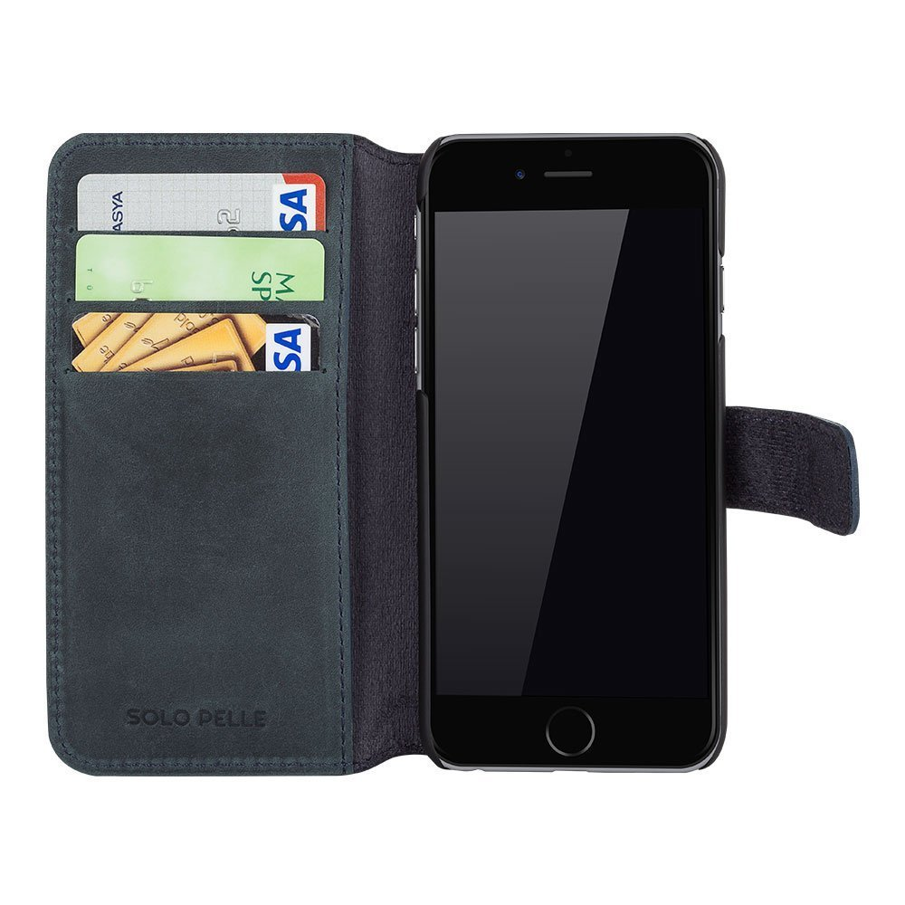 iphone 6 plus used iphone 6 plus 6s plus h 252 lle quot wallet quot vintage grau 2566
