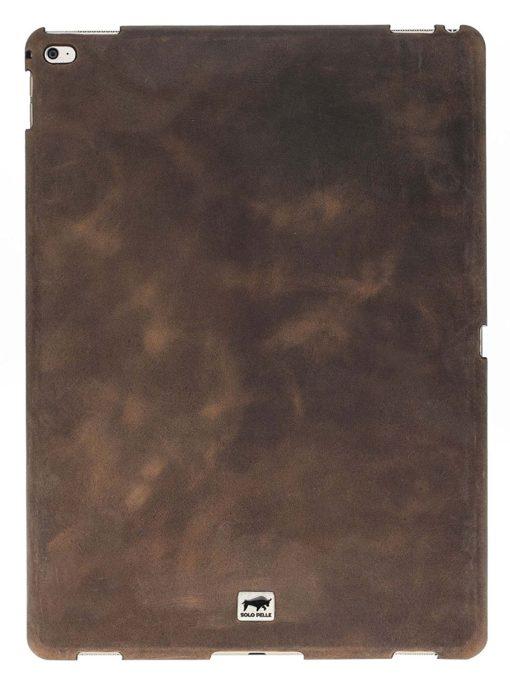 "Ipad Pro 12,9 Zoll ""Fullsafe"" Hülle aus echtem Leder in Vintage Braun"