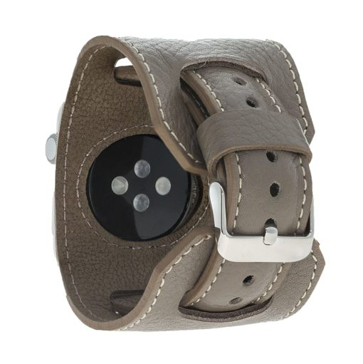 "Apple Watch Lederarmband ""2in1"" in 38mm / 40 mm Taupe"