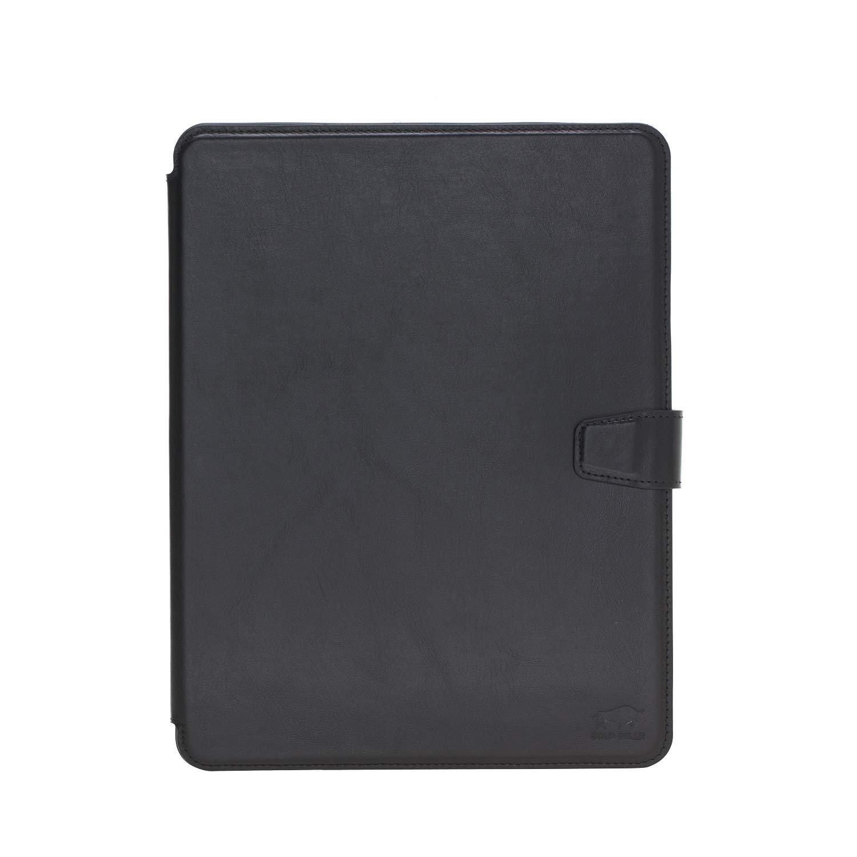Solo Pelle magnetische abnehmbare Hülle Harvard geeignet für Apple iPad Pro 11 Zoll 2018 Hülle Leder Case aus echtem Leder. Unterstützt Pencil 2 und magnetisches Laden. (Schwarz)