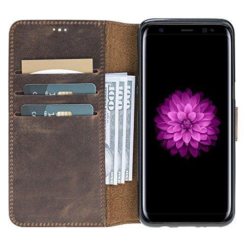 Walletcase (Samsung S8 Plus in Vintage Braun)