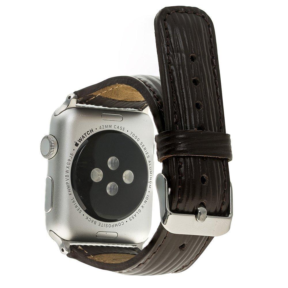 Apple Watch Lederarmband 38mm / 40 mm  in Epi Dunkelbraun