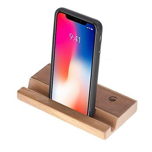 Universal Halter für Smartphone & Tablets in Cognac Braun