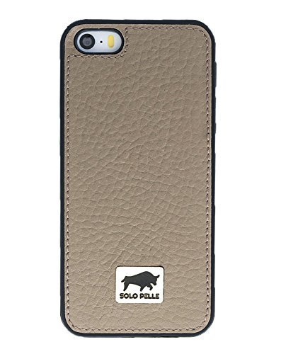 "iPhone SE / 5 / 5S ""STANFORD"" Hülle in Floater Taupe"